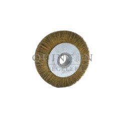brosse circulaire pour le dosage de matière