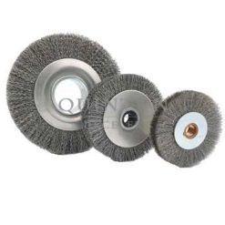 brosse circulaire pour le traitement de surface