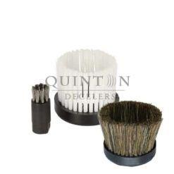 brosse plateau nettoyage de pièce industrielle