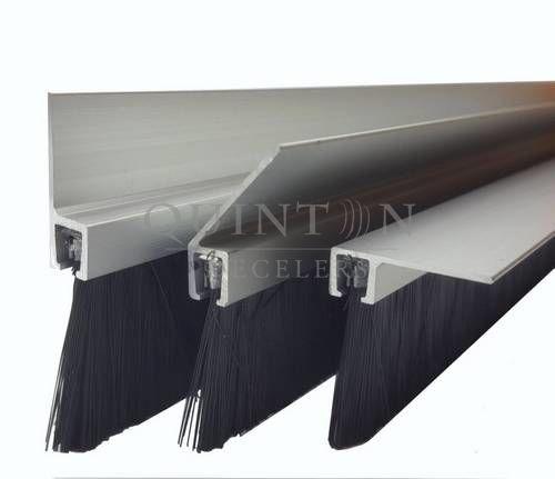 brosse sur profil aluminium