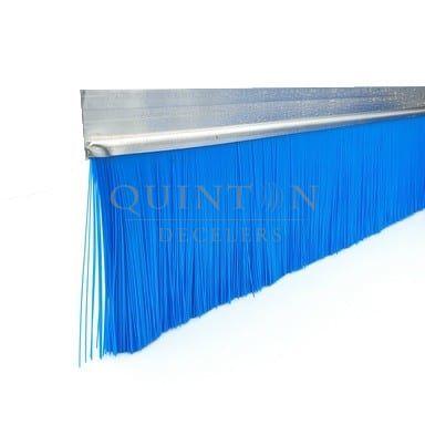 Brosse industrielle technique monobloc fibre polyester bleu