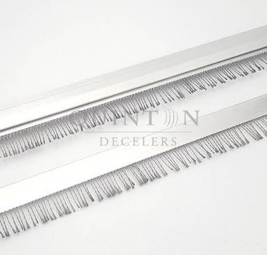 fabricant brosse antistatique fibre acier inox tresse