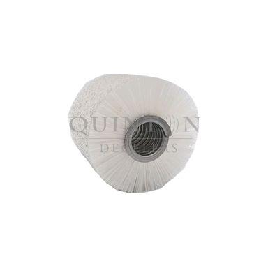 brosse strip cylindrique enroulé extérieur