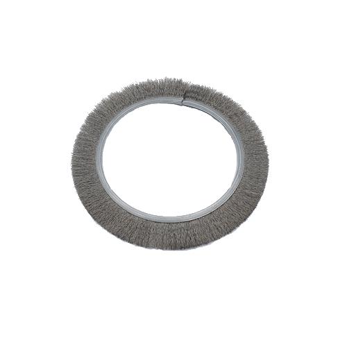 brosse industrielle circulaire en acier