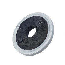 Brosse circulaire simple spire fibre intérieur